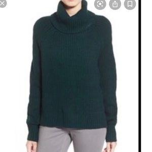 DEX High/Low Turtleneck Sweater